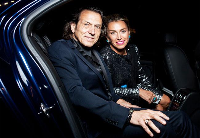Стивен Вебстер с супругой